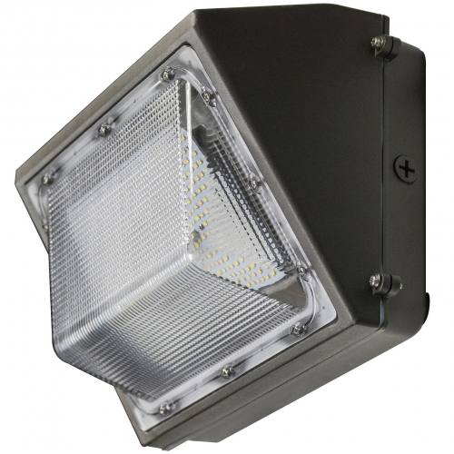 40 Watt LED Traditional Wall Pack -  4,734 to 4,817 Lumens - DLC Standard - cULus Listed - 3K/4K/5K - 120-277 Volt