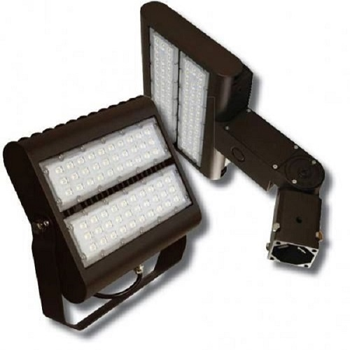 80 Watt Multi-Purpose LED Flood & Area Light 5000 Kelvin DLC
