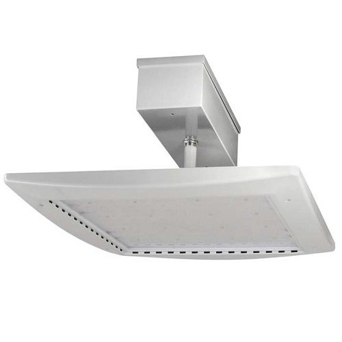 LED Gas Station Canopy Light - 120W - 11,963 Lumens - DLC Standard - UL Listed - 5K - 120-277V