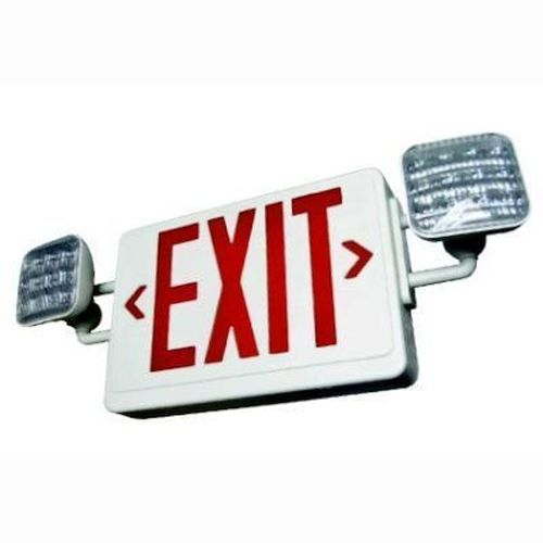 LED Exit & Emergency Combo