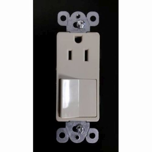 Switch- 15 Amp 120V / Receptacle- 15 Amp 125V