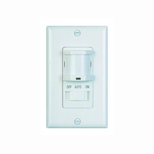 Occupancy Sensor - Automatic On / Off with Slide Light Switch