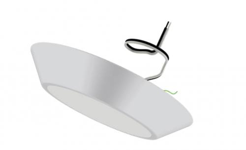 LED Canless Surface Mount Shower Light - 12W - 900 Lumens - ETL Listed - Energy Star Rated - Dimmable - 27K/3K/35K/4K/5K - 120V