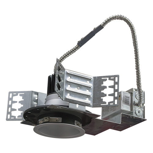 4 Inch LED Architectural Can & Frame-In Kit - 21W - 1,590 Lumens - Energy Star Rated - UL Listed - Dimmable - 3K - 120-277V