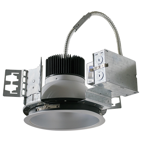 8 Inch LED Architectural Can & Frame-In Kit - 40W - 3,090 Lumens - Energy Star Rated - UL Listed - Dimmable - 4K - 120-277V
