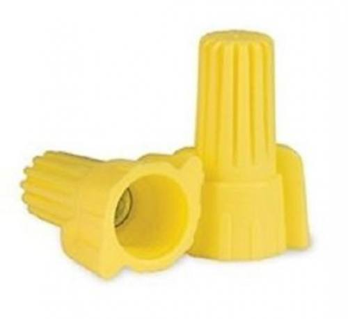 Wire Connector - 500pc Yellow Winged / P11