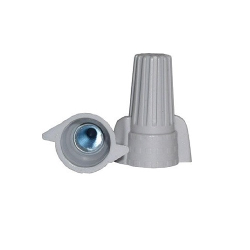 Wire Connector - 250pc Big Gray Winged / P15