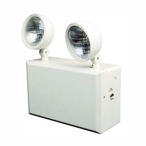 Emergency Light - Heavy Duty Remote Head Capacity 12 Volt, 100 Watt Unit with 20 Watt Halogen Lamps (1210 Unit)