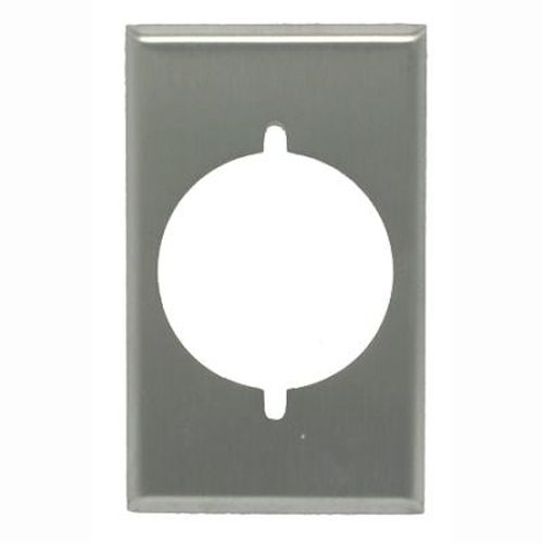 Power Outlet Plate - 1 Gang/ Stainless Steel